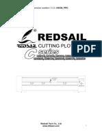 Redsail Cutting Plotter User Manual A