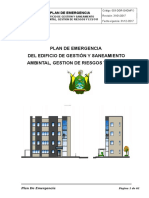 Plan de Emergencia Del Edificio