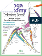 Anatomia Yoga Colo Book