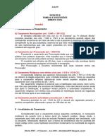 Aula 06 - Anotações Direito Família e Sucessões 06-09-2018