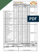Planilla Presupuesto Obra - Fernandez Hugo Francisco
