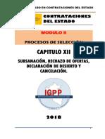 MODULO 02- CAPITULO 12 SUBSANACIÓN, RECHAZO DE OFERTAS Y  DECLARACIÓN DE DESIERTO..docx