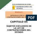 MODULO 01 - TITULO 06 SUJETOS EXCLUIDOS DE LA LEY DE CONTRATACIONES DEL ESTADO.docx