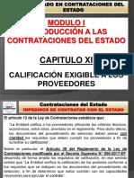MODULO 01 - TITULO 11 - CALIFICACION EXIGIBLE A LOS PROVEEDORES.pptx