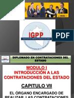 MODULO 01 - TITULO 07 DEL ORGANO ENCARGADO DE LAS CONTRATACIONES DEL ESTADO.pptx