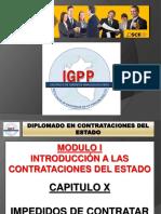 MODULO 01 - TITULO 10 - IMPEDIDOS DE CONTRATAR CON EL ESTADO.pptx