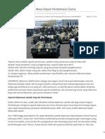 Indoprogress.com-Diplomasi Militer Dan Masa Depan Perdamaian Dunia