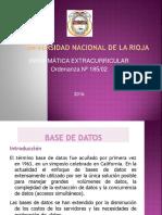 Diapositivas Base de Datos 16
