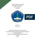 Cover Pengesahan Askep KMB 1