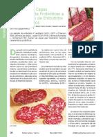 Aplicacion Probioticos en Embutidos Cárncos