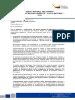 Policia Nacional Sugerencias Vicerrectorado Estatuto Genérico Institutos Públicos