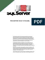 SQL Server 7.0 Security