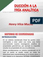 Introducción a La Geometría Analítica CEPREUNI 2019-2-1