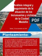Analisis de la situación de biciusuarios en Medellín