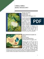 Cuentos Para Niñas y Niños Librería Invierno 2017