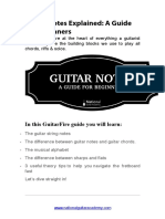 Guitar Notes Explained