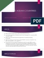 Brics and Asean Nations