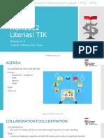 Literasi TIK - Week 9 - Praktek Tools Kolaborasi - New