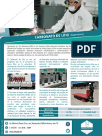Productos Carbonato Litio