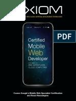Mobile Web & Serverless Cloud Brochure