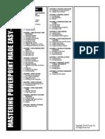 Powerpoint syllabus
