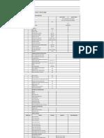 Data Sheet for Heat Exchanger