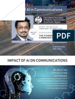 Impact of AI in Marketing & Communications - Subhamoy Das - IABC APAC - March 20, 2019