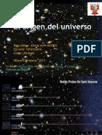 1. Clase El Origen Del Universo