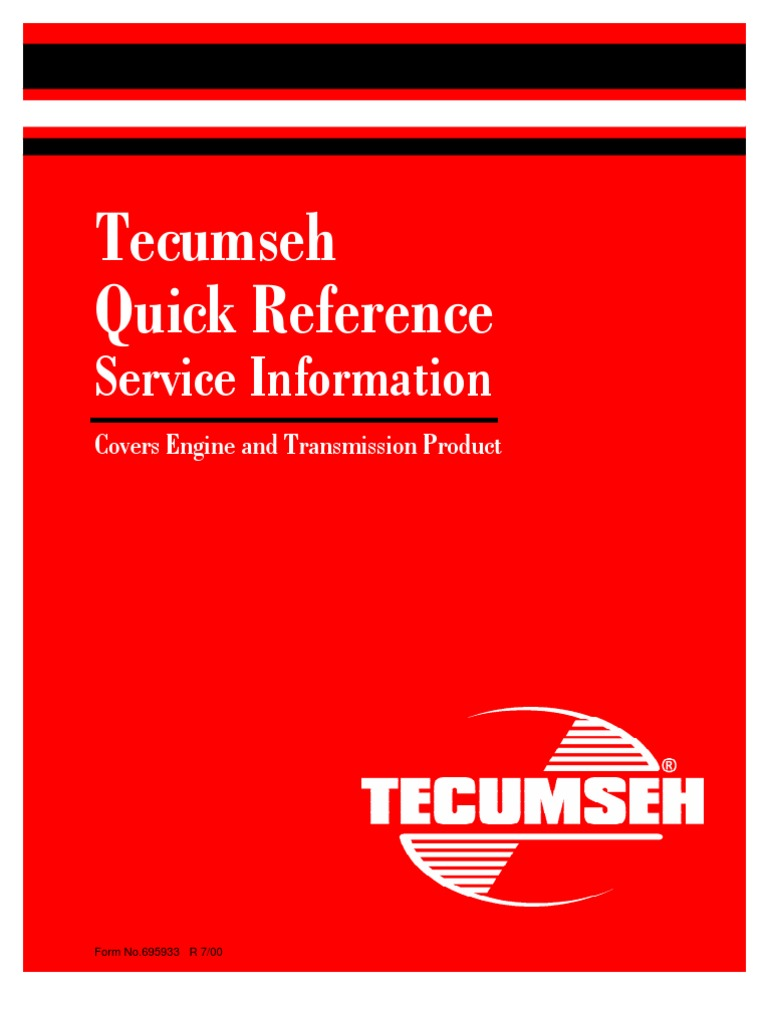 tnt120 ecv100 Primer-Tecumseh// ecv120, tnt100 ecv105 cf. mod ecv110