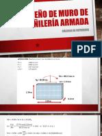 Diseño de Muro de Albañilería Armada