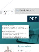 OPD Case Protocol UTI