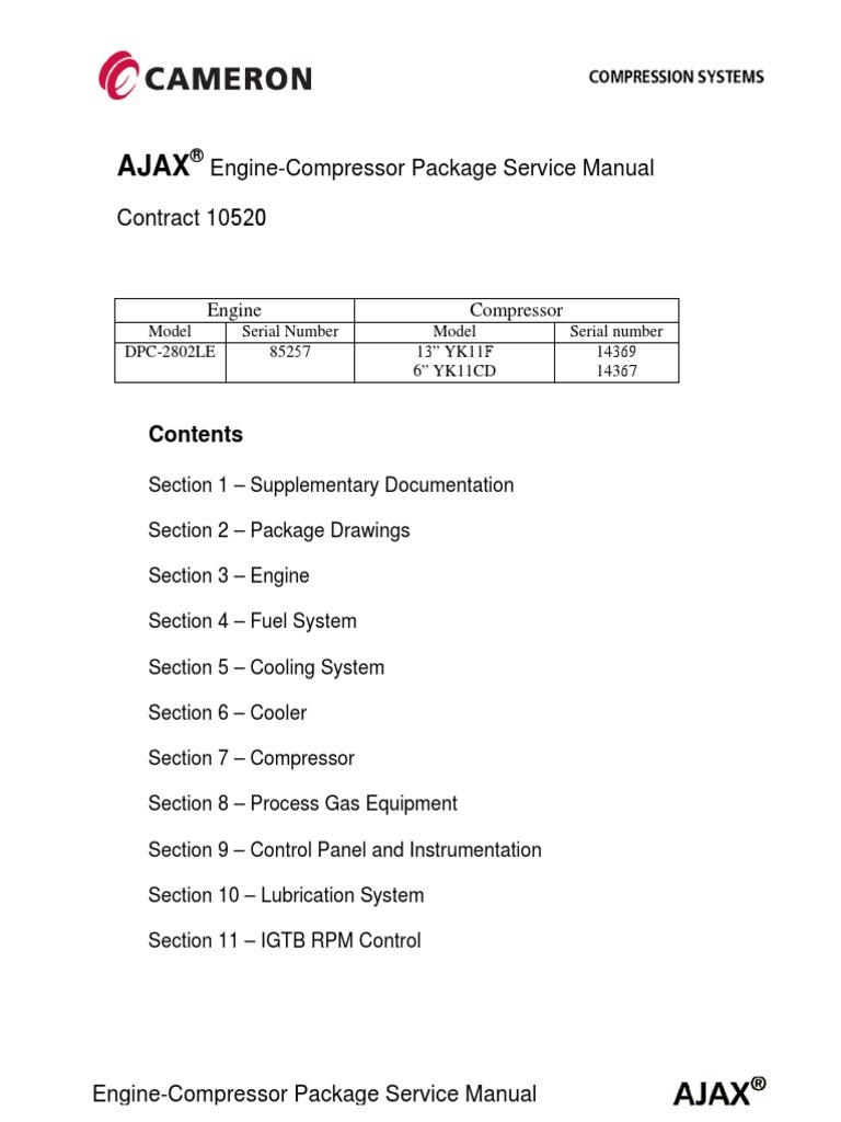 MAN-AJAX-DPC-2802LE-OM pdf | Jet Engine | Internal