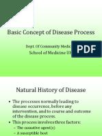 Basics Concept of Disease Process