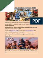 Upcoming Animated Movies 2019.pdf