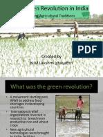 ppt green revolution