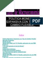 POLITICA MONETARIA EXPANSIVA