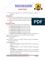 I Torneo Juvenil de Ajedrez 2019