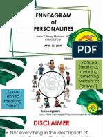 Enneagram of Personalities
