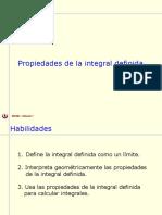 8.2 Propiedades de La Integral