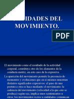 Calidades Del Movimiento Diapo