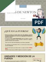 Leyes de Newton Avances