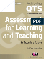 1 (Achieving QTS) Martin Fautley_ Jonathan Savage-Assessment for learning and teaching in secondary schools-Learning Matters (2008).pdf