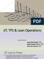 JIT and Lean Operation Heizer