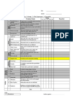 6S Audit Checklist 2015