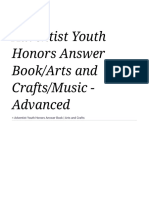 Adventist Youth Honors Answer Book_Arts and Crafts_Music - Advanced - Wikibooks, Open Books for an Open World