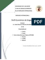 Perfil Economico Singapur