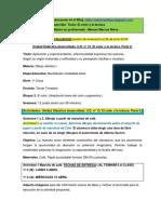 Actividades Para Poner en El Blog. Unidad Didáctica. El Color y La Textura