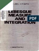 P. K Jain, V. P. Gupta - Lebesgue measure and integration     (1986, Wiley _ Halsted Press).pdf
