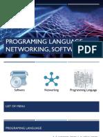 Software, Programming Language, Networking