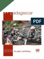 Madagascar Flash Appeal, 2009